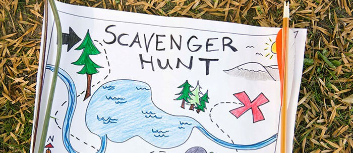Things to do in the summer holidays - #1 Scavenger Hunt