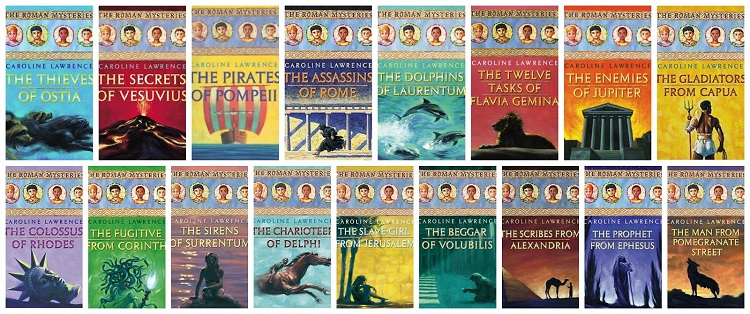 Image result for roman mysteries books
